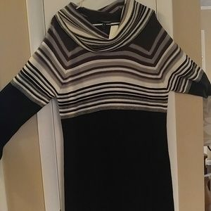 Ladies plus size winter dress